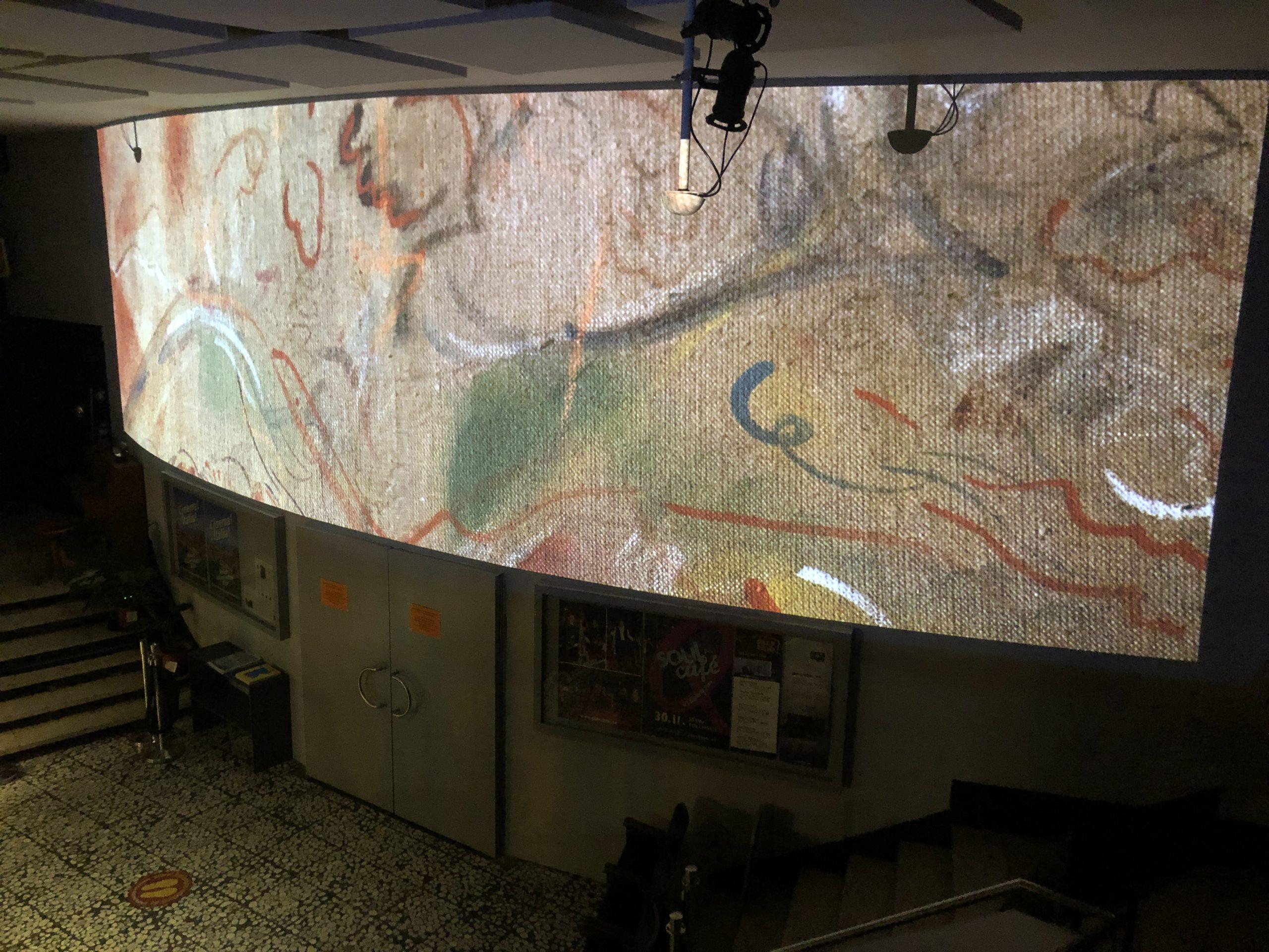 ‹Reflection of the Projection – Ein Kontemplationsraum› von Didi Müller in der Kinemathek Karlsruhe